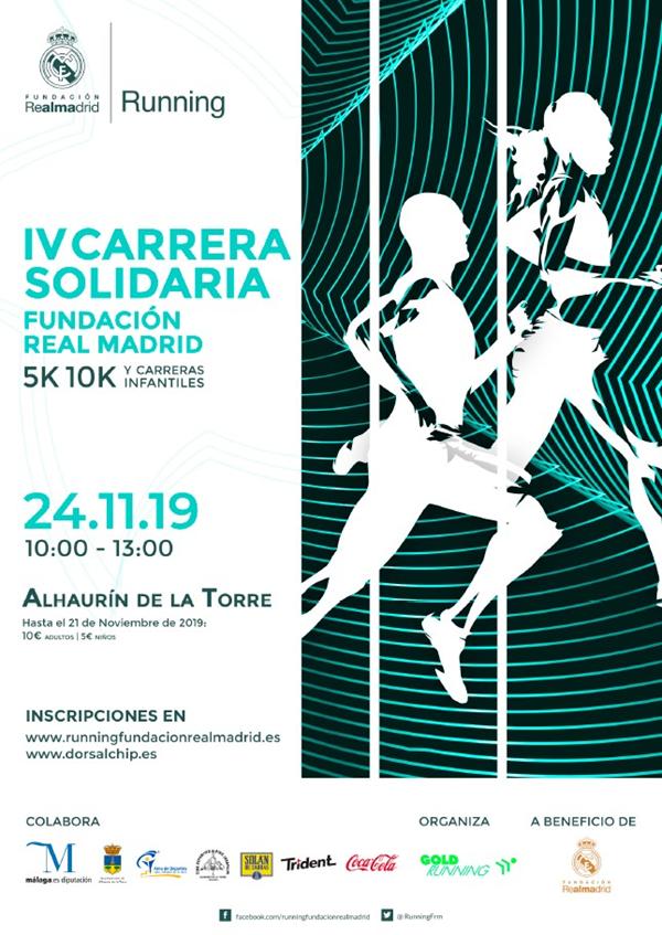 IV Carrera Solidaria Fundación Real Madrid Alhaurín de la Torre
