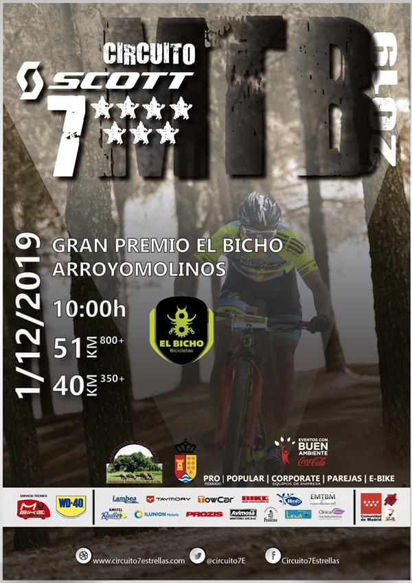 Gran Premio El Bicho. MTB 7 Estrellas