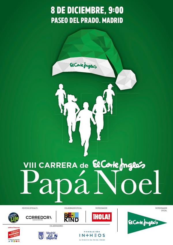 VIII Carrera de El Corte Inglés Papá Noel