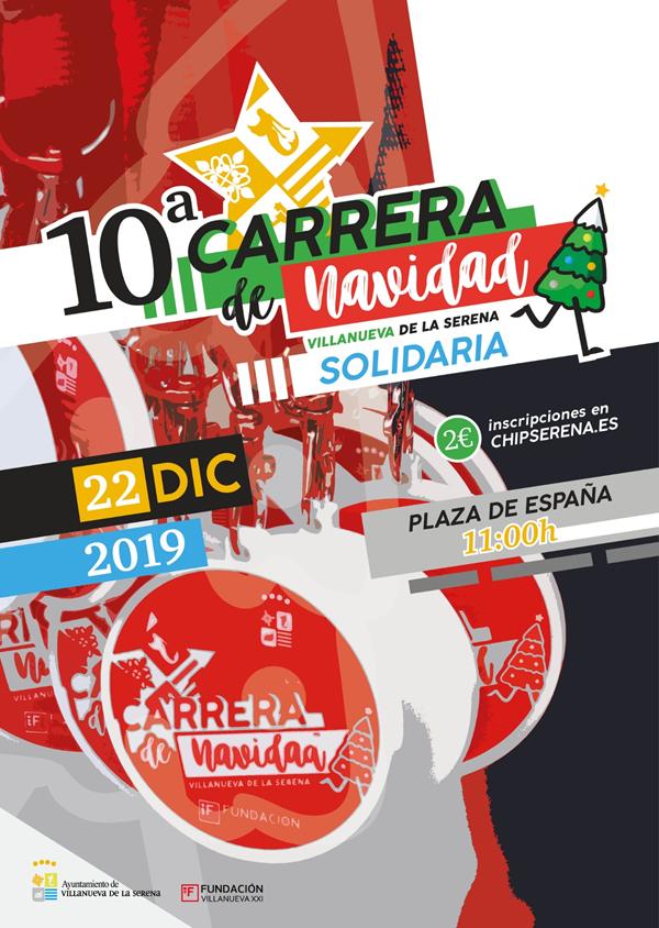 10ª Carrera de Navidad Villanueva de la Serena