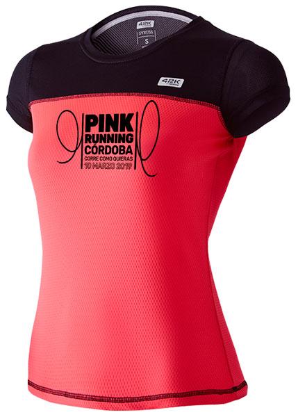 Camiseta de pink Running 2019