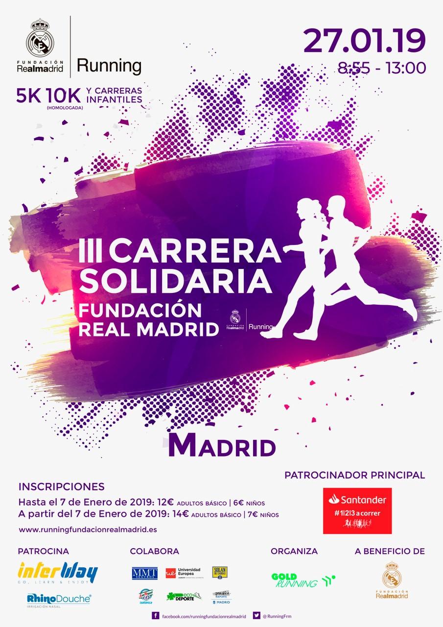 III Carrera Solidaria Fundación Real Madrid