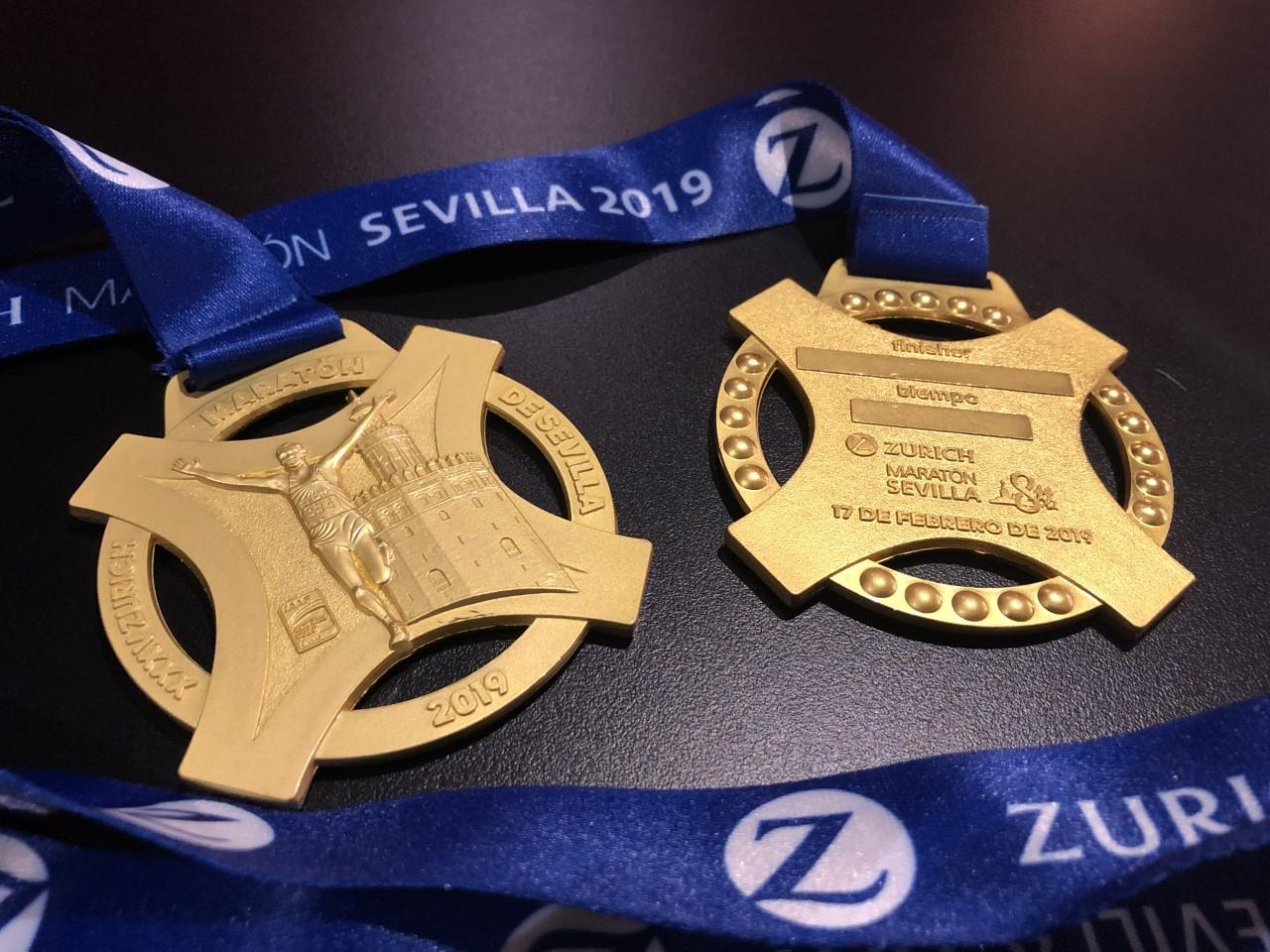 Resultado de imagen de medalla zurich sevilla 2019