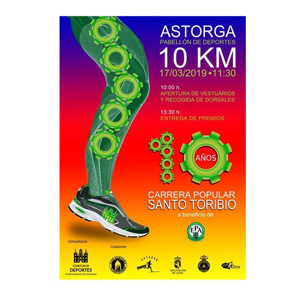 Publicada la puntuación de la X Carrera Popular Santo Toribio