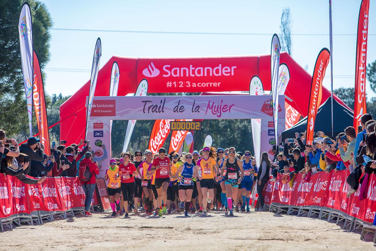 Patricia Bonilla gana el primer Trail de la Mujer