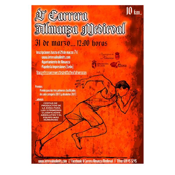 Publicada la puntuación de la V Carrera Almanza Medieval