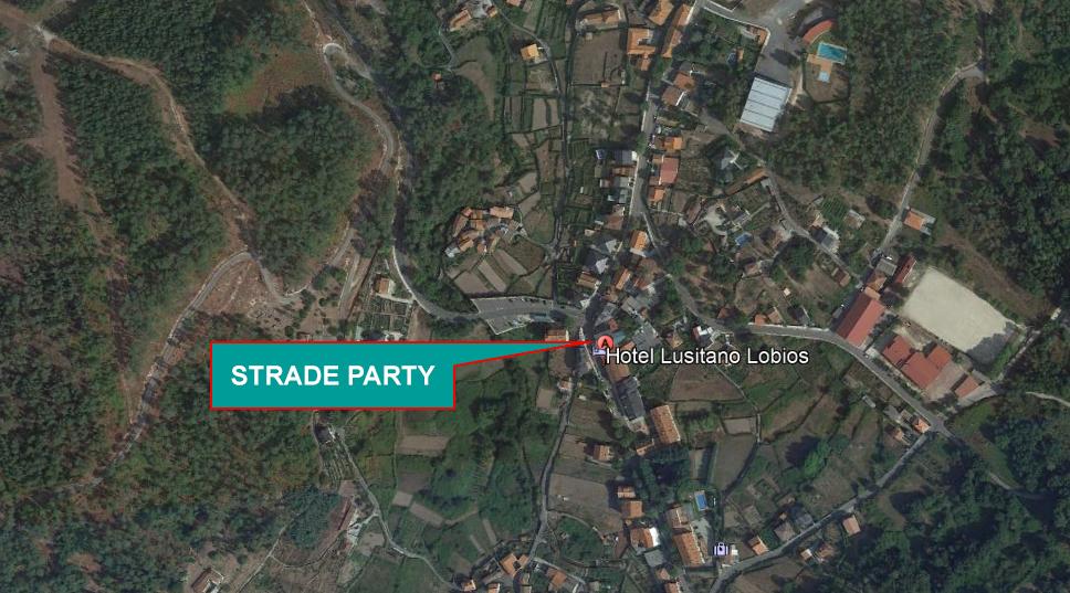 Ubicación Strade Party