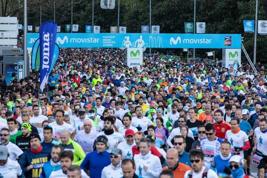 El keniano Kipremoi Kiprono, con 01:01:47, batió el récord de la distancia de medio maratón en Madrid