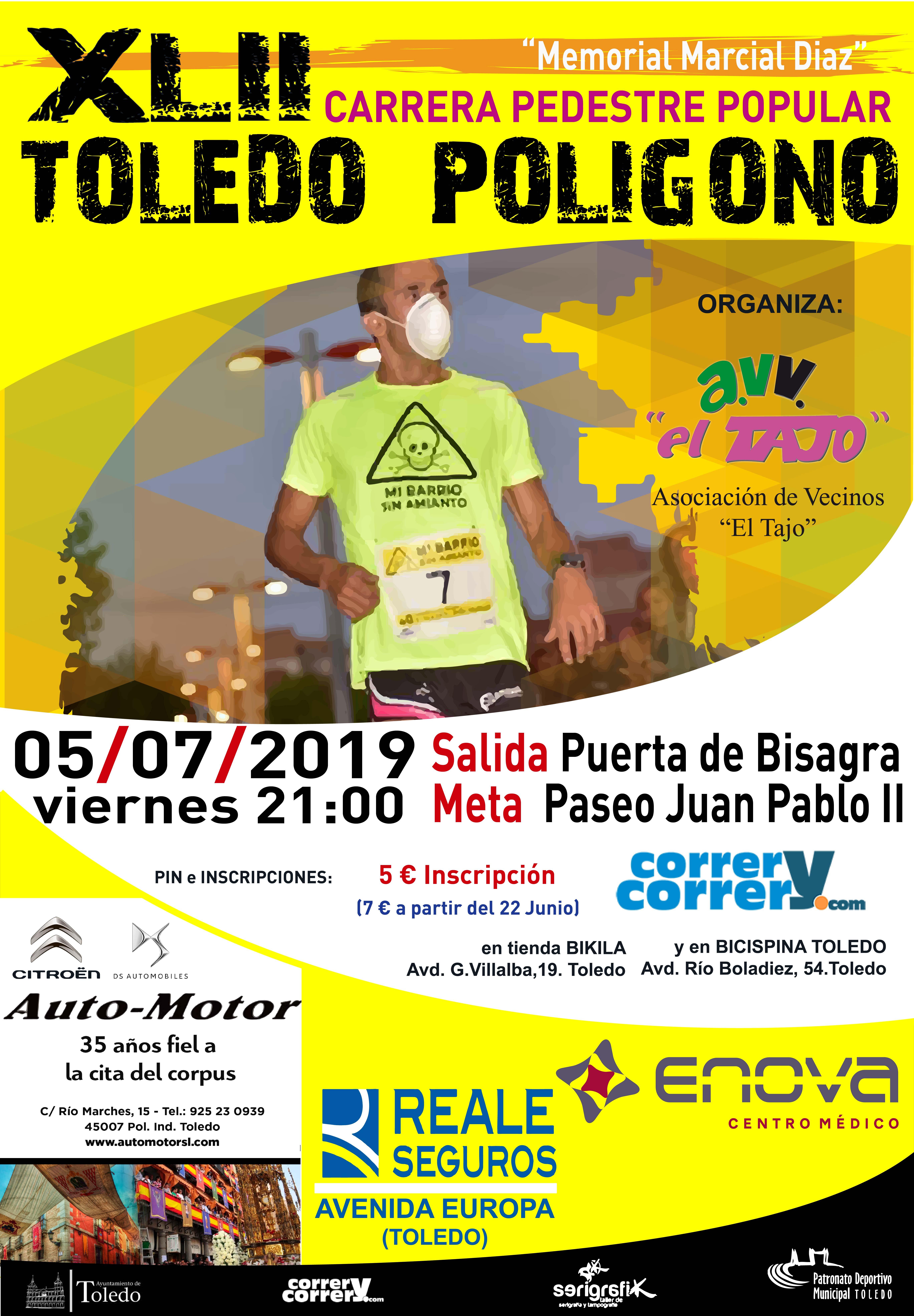 XLII Carrera Pedestre Popular Toledo-Poligono