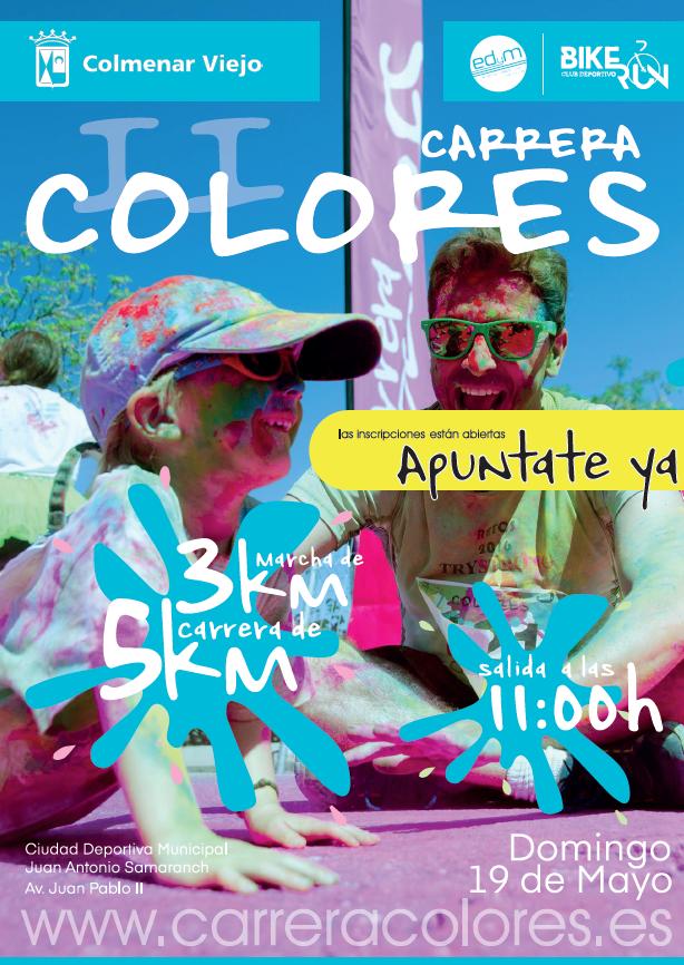 Carrera Colores de Colmenar Viejo 2019