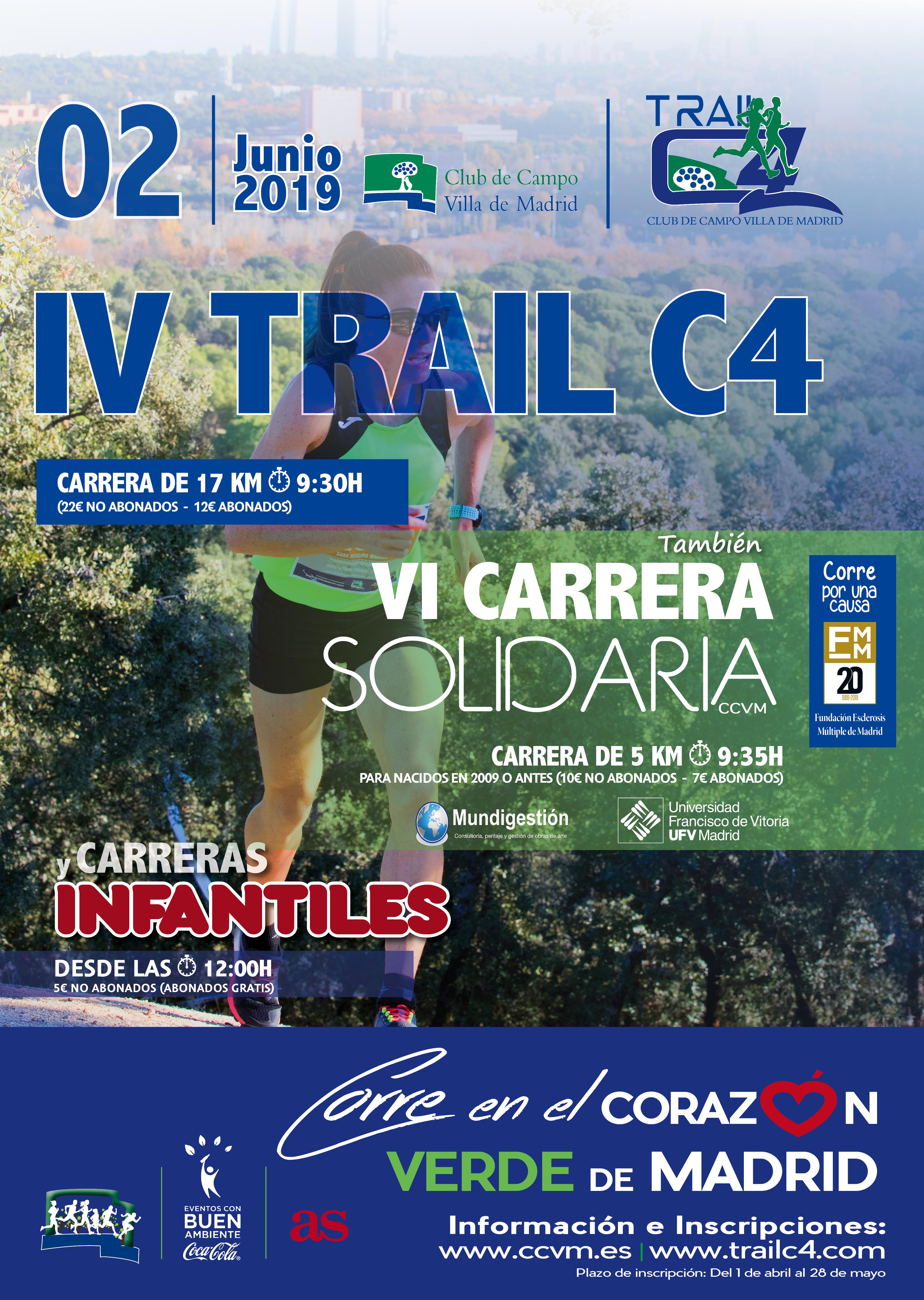 IV Trail C4 2019 y VI Carrera Solidaria CCVM 2019
