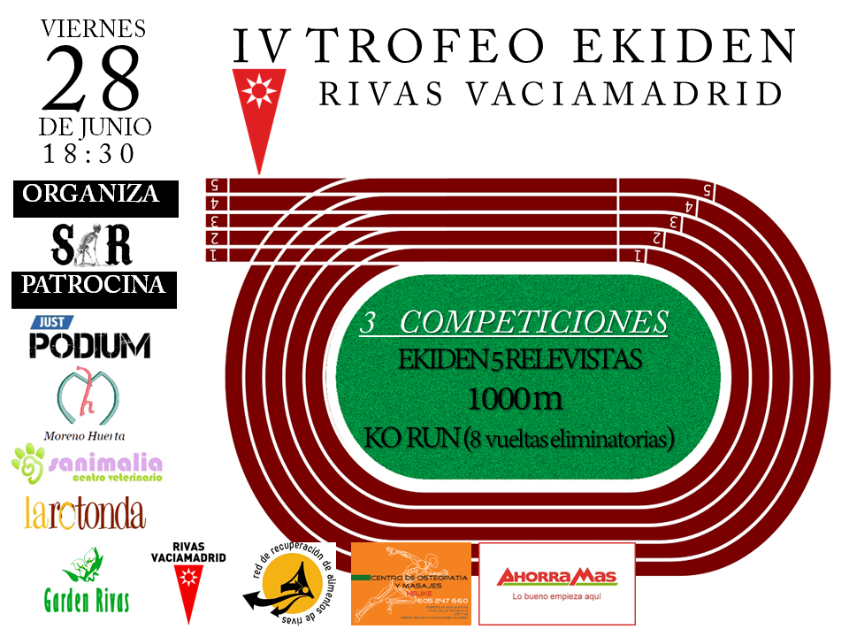 IV Trofeo Ekiden Rivas Vaciamadrid