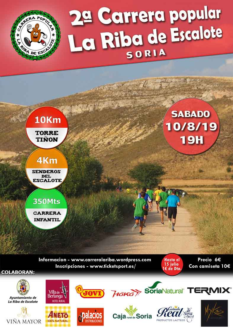 2ª Carrera Popular La Riba de Escalote