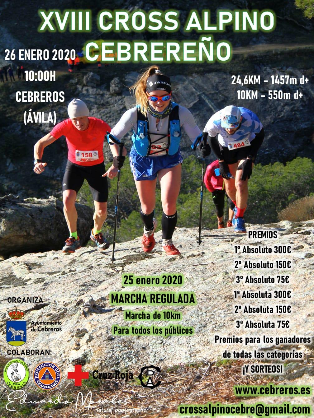 10Km. XVIII Cross Alpino Cebrereño