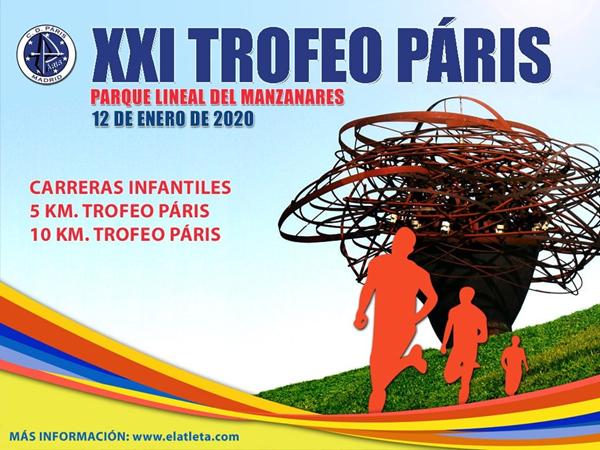 XXI Trofeo Páris y los XII 5 km. Trofeo Páris