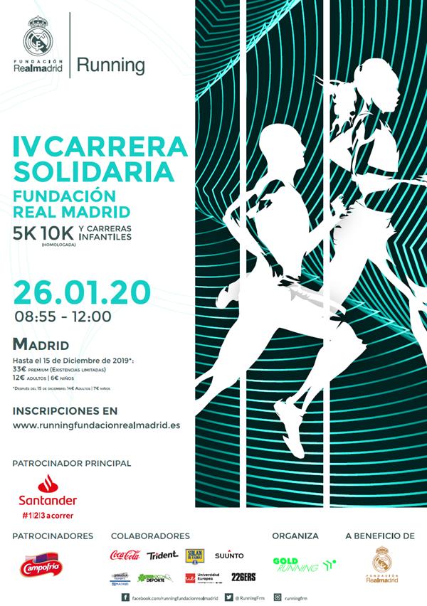 IV Carrera Solidaria Fundación Real Madrid