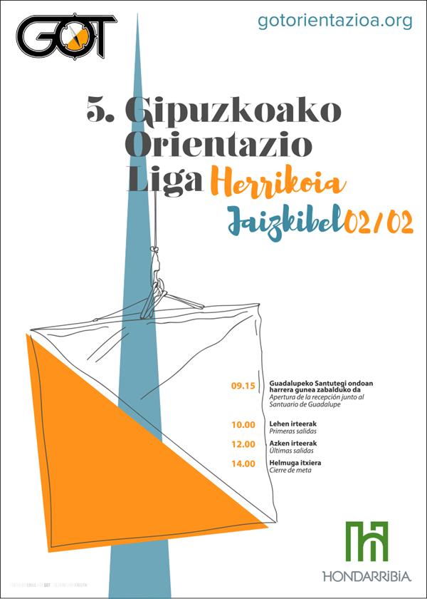 V Liga GOL de Orientación de Gipuzkoa - Jaizkibel