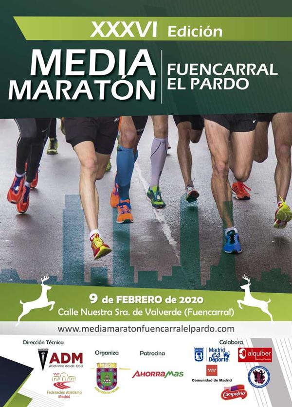 Media Maratón de Fuencarral - El Pardo 2020