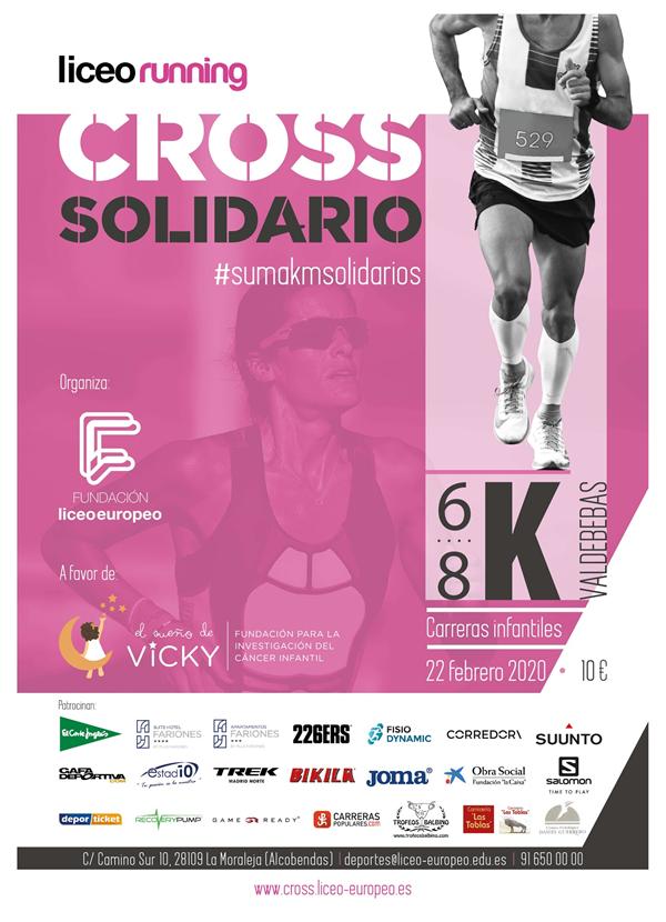 Cross Solidario Fundación Liceo Europeo