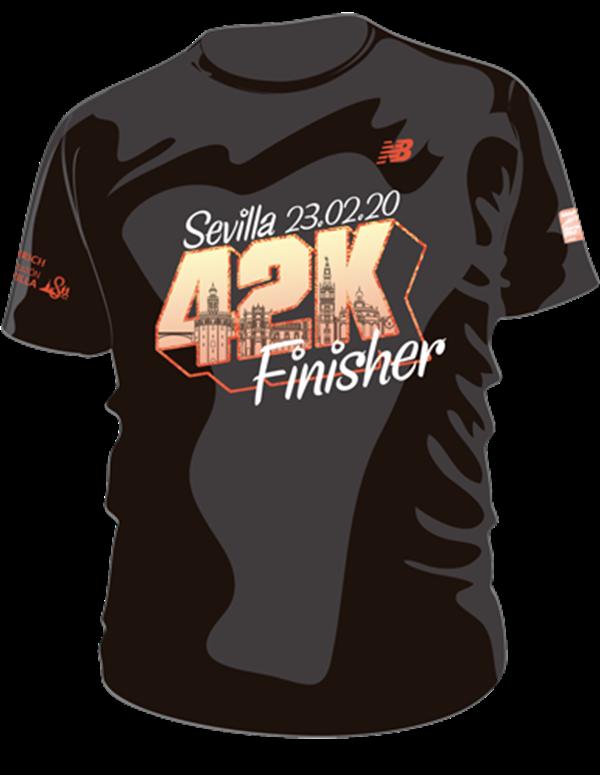 Compra Camiseta Finisher Zurich Maratón de Sevilla 2020
