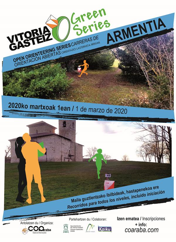 Vitoria-Gasteiz O-Green Series. Armentia