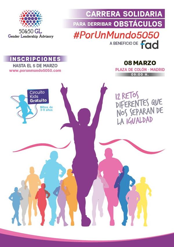 II Carrera de Obstáculos Solidaria Por Un Mundo 5050