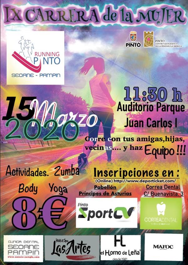 IX Carrera de la Mujer Running Pinto