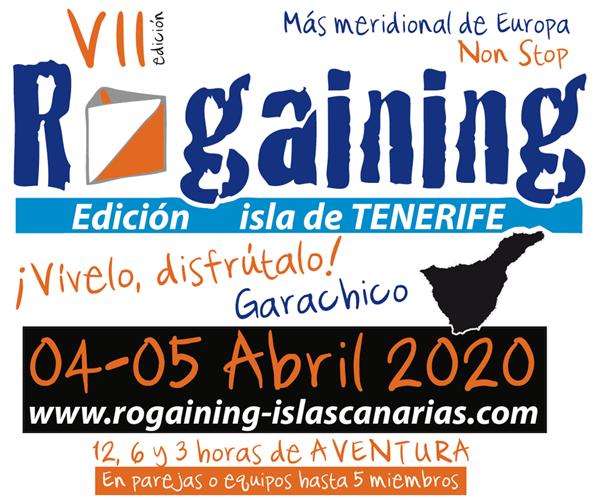 VII Rogaining Islas Canarias - Edición Tenerife