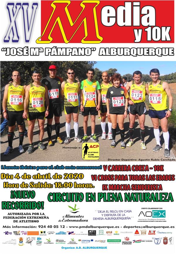XV Media y 10K de Alburquerque José Mª Pámpano