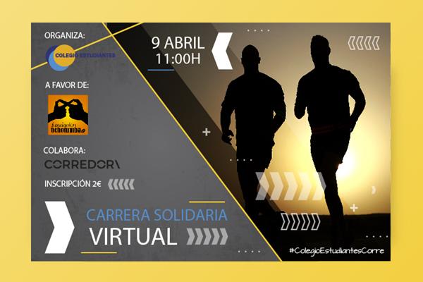 Carrera Solidaria Virtual Colegio Estudiantes