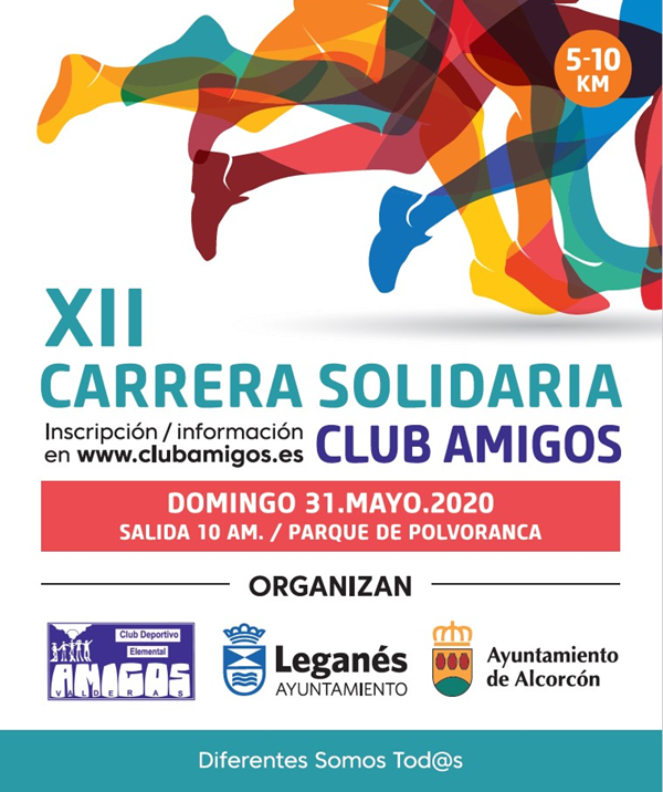 XII Carrera Solidaria Club Amigos