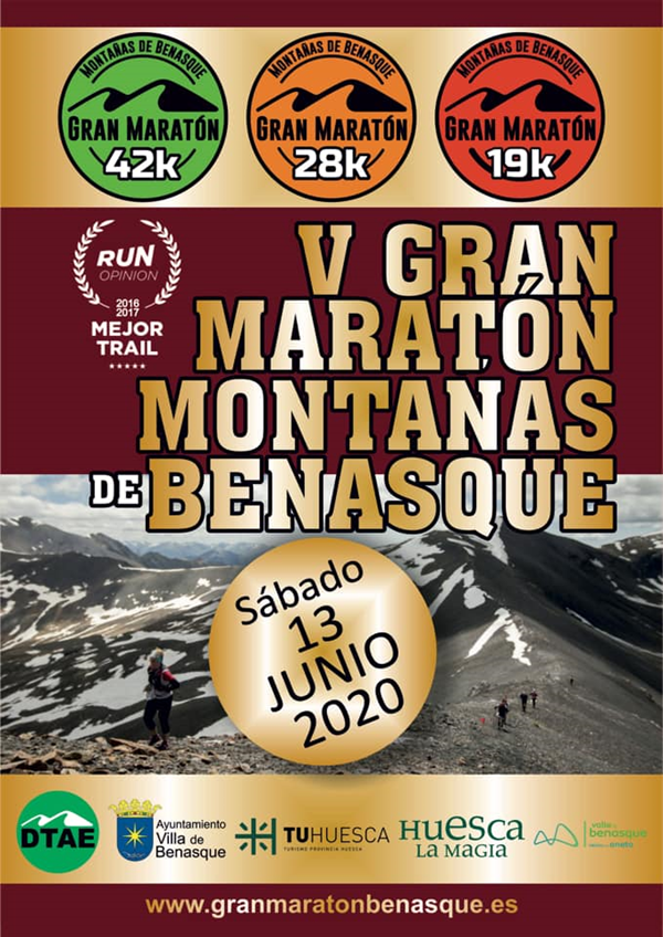 V Gran Maratón de Montañas de Benasque: 28km