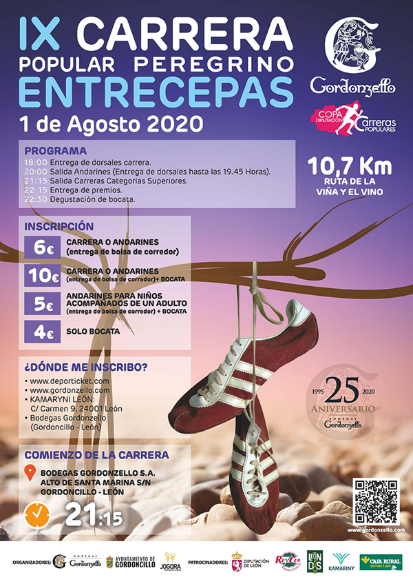 IX Carrera popular Peregrino Entrecepas Bodegas Gordonzello
