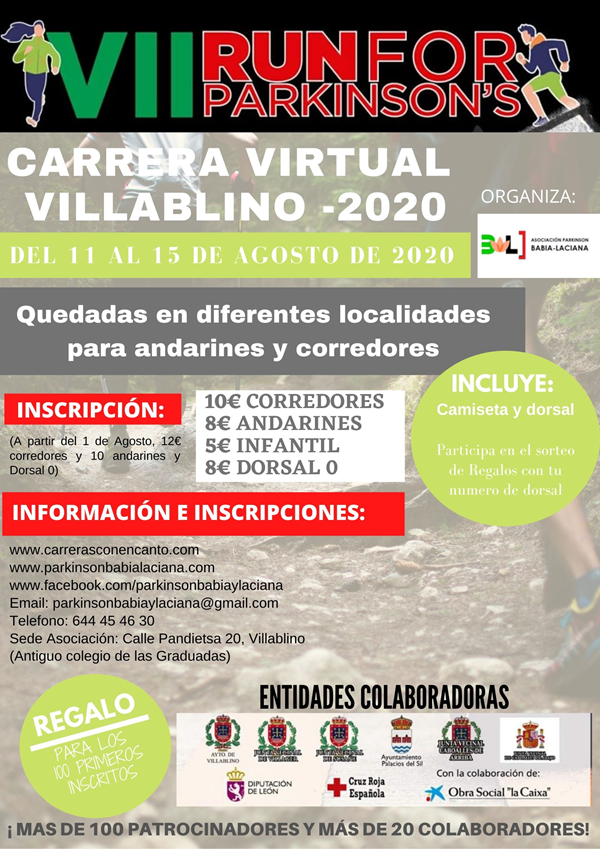 VII Run For Parkinson Villablino - Carrera Virtual