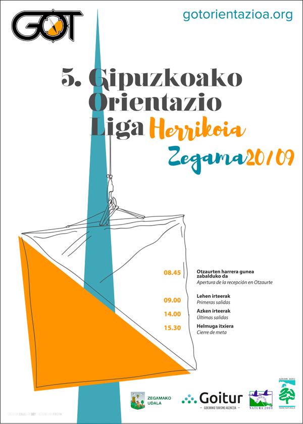 V Liga GOL de Orientación de Gipuzkoa - Otzaurte