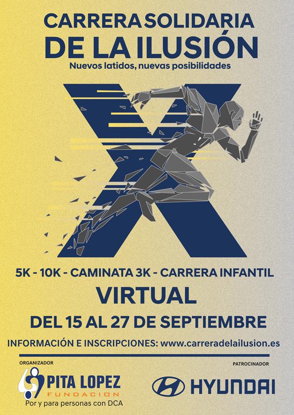 X Carrera Virtual de la Ilusión – Fundación Pita López