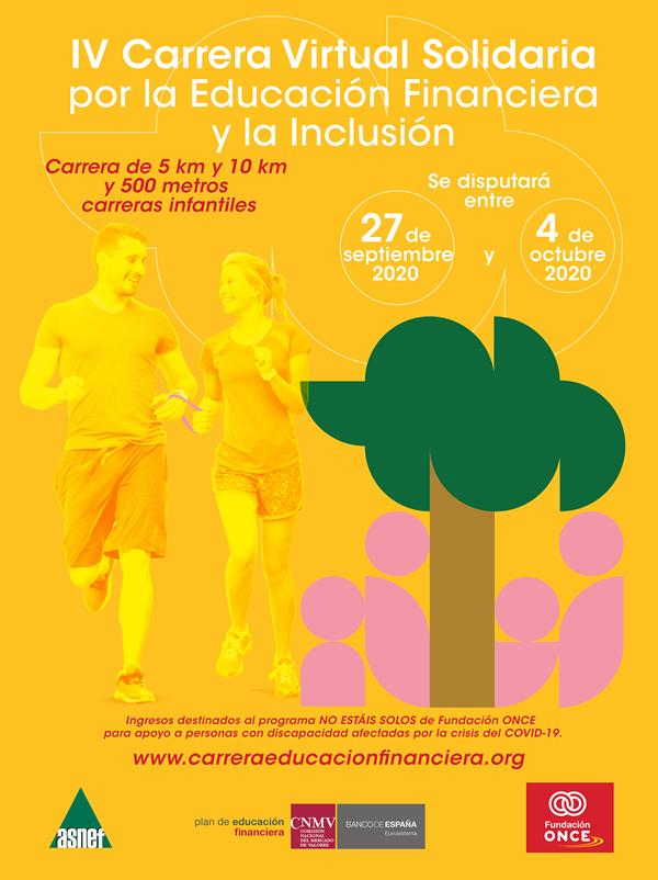 Carrera Solidaria Virtual por la Educación Financiera y la Inclusión
