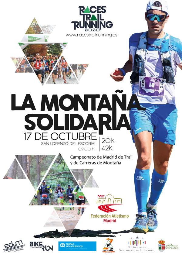 IX La Montaña Solidaria - Campeonato de Madrid de Trail y Carreras de Montaña