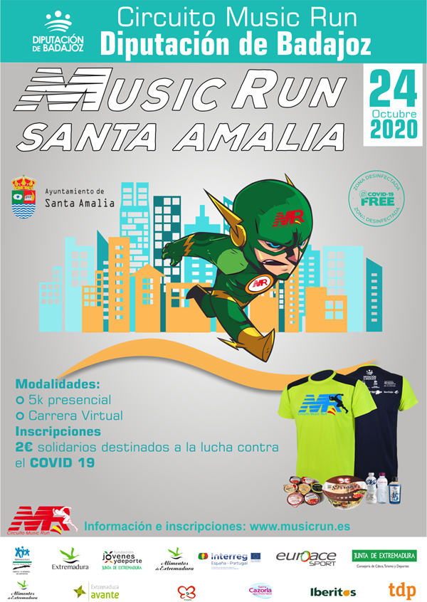 Music Run Santa Amalia