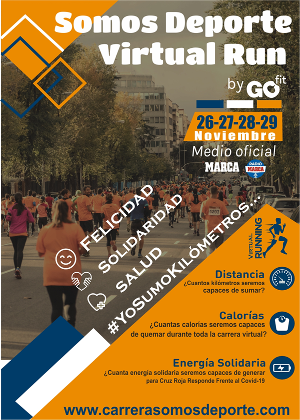 Somos Deporte Virtual Run by GO fit