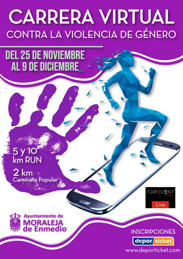 Carrera Virtual Contra la Violencia de Género Moraleja de Enmedio 5K