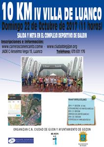 IV 10 km Villa de Luanco