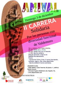 II Carrera Solidaria por las personas con diversidad funcional