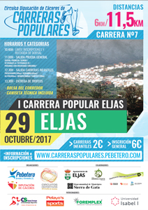 I Carrera Popular Eljas