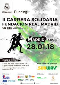 TARJETA REGALO: II Carrera Solidaria Fundación Real Madrid
