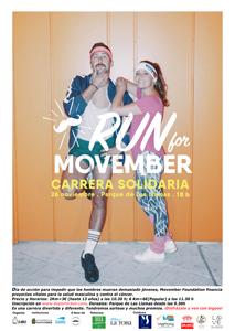 RUN FOR MOVEMBER II Carrera popular para lucha contra el cáncer masculino