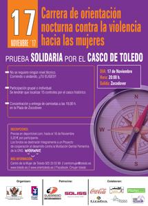 """III Carrera de Orientación Urbana Nocturna - """"Contra la violencia hacia las mujeres"""""""