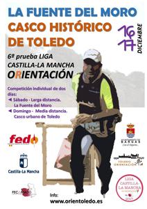 La Fuente del Moro/Casco Histórico de Toledo - 6ª prueba Liga de CLM Orientación