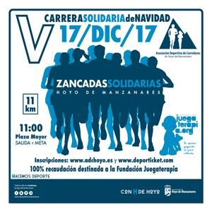 """V Carrera de Navidad """"Zancadas Solidarias"""""""
