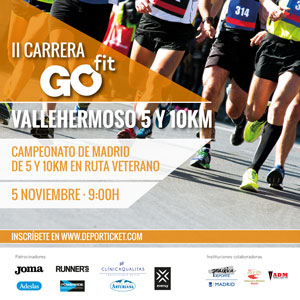 10 Km. II Carrera Popular Go fit - Vallehermoso